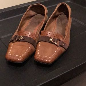 Ladies Cole Haan lloafers with Nike Air Sz. 6.5
